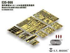ET modello 1/35 #E35066 M1A1 Obiettivo MBT dettaglio UP Set per Dragon 3535
