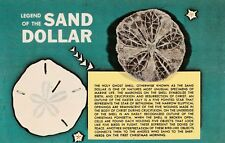 "*Postcard-""Legend of The Sand Dollar"" (U1-487)"