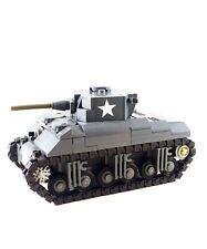 Lego M4 Sherman American WW2 Tank