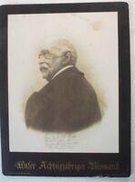 Unser Achtzigjähriger Bismarck Original-Photographie A Mennelt 1895 Fried G-1871