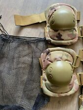 NEW MULTICAM padded-hard shell knee and elbow pads airsoft paintball