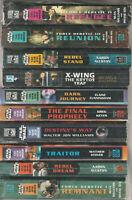 Partial Set Series - Lot of 10 Star Wars the New Jedi Order Paperbacks (SJ 6-4)