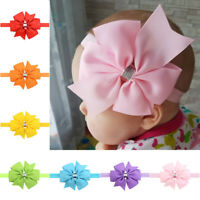 Baby Headband Girls Hair Accessories Cotton Rabbit Turban Bow Elastic Hairband