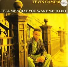 "TEVIN CAMPBELL tell me what you want me to do/goodbye W0102 1992 7"" PS EX/EX sos"