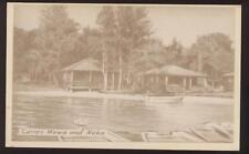 Postcard McMillian MI Camp Wawa and  Neka view 1940's?