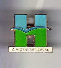 RARE PINS PIN'S .. MEDECINE HOPITAL CHR CHU CLINIQUE C.H GENERAL LAVAL 53 ~BS