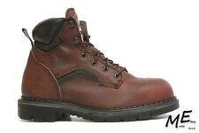 New Red Wing 2326  6-inch Men Safety  work Boots Sz 6D  Leather Brown