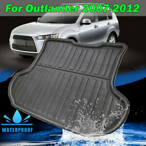 For Mitsubishi Outlander 2007-2012 Boot Cargo Liner Rear Trunk Tray Floor Mat