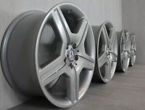 "REFURBISHED Genuine Staggered 19"" Mercedes AMG S-class W221 wheels 5x112"
