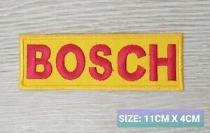 BOSCH logo  Motor Embroidered Iron On/Sew On Patch Badge
