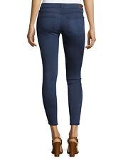NWT PAIGE PREMIUM DENIM Verdugo Ankle Mid-Rise Skinny Jeans Size 28 in NATE Dark