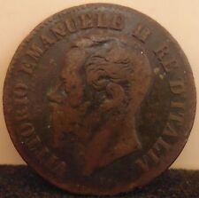 VITTORIO EMANUELE II RE D'ITALIA - 2 CENTESIMI - 1862 NAPOLI - 7/17