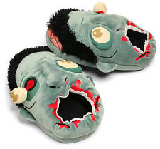 Dead Zombie Walking Plush Slippers  [One Size Fits Most]