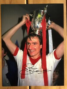 Phil Thompson Liverpool Hand Signed 16x12 Photo - SEE HIM SIGNING - PROOF
