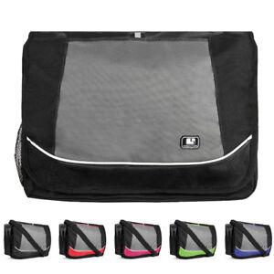 """SumacLife Canvas Laptop Shoulder Messenger Bag For 15.6""""HP ProBook/Acer Aspire 5"""