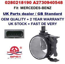 Mass Air Flow meter sensor 0280218190 A2730940548 OEM Quality for MERCEDES BENZ