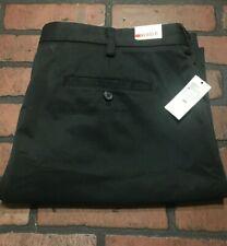 IZOD Black Flat Front Golf Shorts Men's Size 40