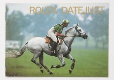 Genuine Rolex DATEJUST Vintage 1992 English Manual Booklet Papers Book Guide
