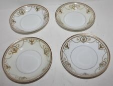 "4 VTG Haviland Limoges China Eugenie Berry Bowls - 5"" - EUC"
