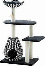 Ace PetPals Cat Tree & Cat Condo-Four Level Perch & Condo Lounger