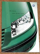 2003 Model Year VW SHARAN Sales Brochure - Carat Sport SL 4MOTION - UK Market