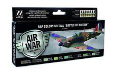"Vallejo Model Air RAF & FAA speciale ""BATTAGLIA D'INGHILTERRA"" SECONDA GUERRA MONDIALE 8 x 17 ML Set Vernice"