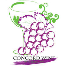 Concord Wine Adhesive Wine Bottle Labels - 30-Pack