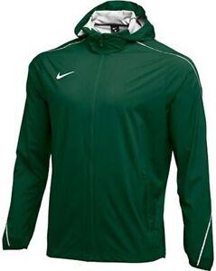 $140 Nike Hypershield Team Woven Hooded Jacket Running Green/Reflective Men's L