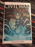Civil War #3 2nd Print Mighty Thor Cover VF/NM [Marvel, 2006]