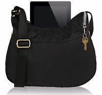 Suvelle RFID Expandable Travel Convertible Crossbody Bag Nylon Shoulder Handbag
