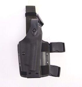 Safariland 6004-77 Drop Leg Tactical Holster RIGHT HAND Black SIG P220/P226 RH
