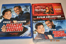 Rush Hour Trilogy Wal-Mart Exclusive 3-Film Collection (Blu-Ray + Digital)