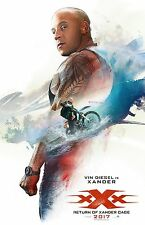 """XXX movie poster  - Vin Diesel poster - 11"""" x 17"""" - Triple X"""
