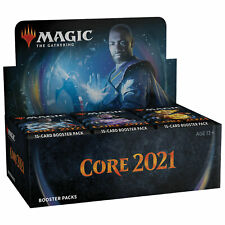 Magic Mtg Core 2021 Booster Box English Factory Sealed New