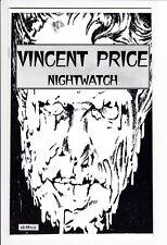 VINCENT PRICE NIGHTWATCH FN/VF Drama Crusade 1997 Donn Cruze Kent Roberts Rare