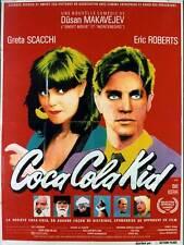 Affiche 60x80cm COCA COLA KID 1985 Eric Roberts, Greta Scacchi, Bill Kerr