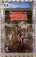 Vengeance of Vampirella (2019) Dynamite - #11, CGC 9.8, Parrillo, NM/M 1186