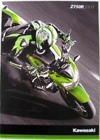 KAWASAKI Z750R - Motorcycle Sales Brochure - 2011