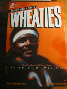 NEW Full 2000 Wheaties Box Walter Payton Chicago Bears *rp