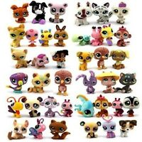 Original Lot 7 Pcs Littlest pet shop Children GIFT LPS Figures Toys Gifts-Random