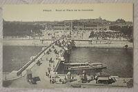 """CPA """" PARIS - Pont et Place de la Concorde"""