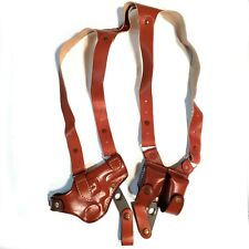 Smith & Wesson 686 Shoulder Leather Holster S&W 686 With MAGAZINE 3' INCH BARREL