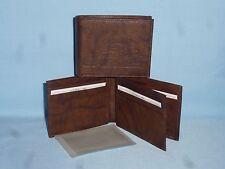 BUFFALO SABRES   Leather BiFold Wallet   NEW   dkbr3+