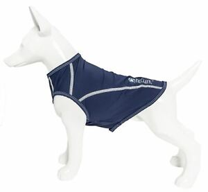 Pet Life 'Racerbark' Quick-Dry and 4-Way Stretch Solid Dog Tank Top T-Shirt