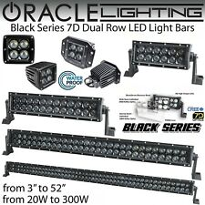 "ORACLE Black Series 7D Dual Row LED Light Bars & Spot Lights - 8""-52"" & 20W-300W"