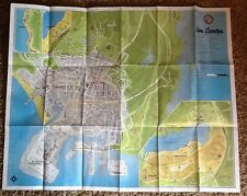 XBOX 360 PS3 **GTA GRAND THEFT AUTO 5 V LOS SANTOS MAP ONLY** EXCELLENT SHAPE **