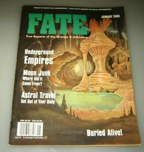 Fate Magazine January 2000 - UNDERGROUND EMPIRES - Astral Travel