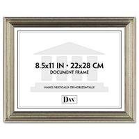 "Dax Antique-colored Certificate Frame - 11"" X 8.50"" Frame Insert - Desktop, Wall"