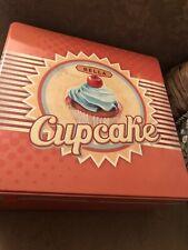 BELLA Mini Cupcake Maker Tin Box Set, Orange NEW Bakes in 5 -10 Minutes