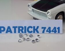Lot de 10 phares scintillant blanc diamant Dinky toys